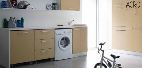 Lavanderia su misura mobile lavanderia arredo lavanderia mobile porta biancheria mobile - Mobili lavanderia su misura ...